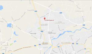 Palestra Guidonia Mappa